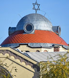 Roof of the synagogue Royalty Free Stock Image