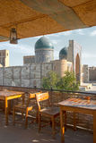 Roof-teahouse in Bukhara Royalty Free Stock Photos