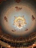 Roof at Teatro la Fenice stock photo