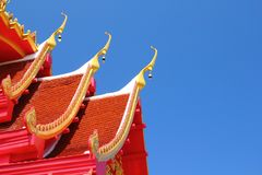 Roof temple Royalty Free Stock Photos
