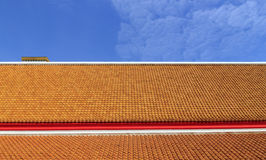 Roof of the temple Royalty Free Stock Image