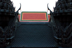 Roof of temple Stock Photo