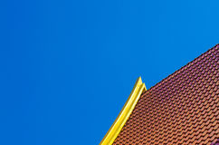 Roof temple Royalty Free Stock Photo