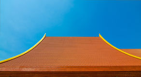 Roof temple Royalty Free Stock Image