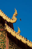 The roof of the temple, Phra That Doi Suthep Royalty Free Stock Photos