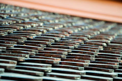 Roof of the Temple, Roof Pattern. Royalty Free Stock Image