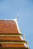Roof temple of Thai style. 1 Royalty Free Stock Image