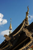 Roof of temple Royalty Free Stock Images
