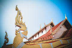 Roof Temple Thailand Royalty Free Stock Photos