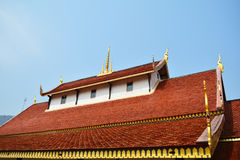 Roof Temple Thailand Royalty Free Stock Images