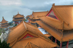 Roof of the temples Royalty Free Stock Image