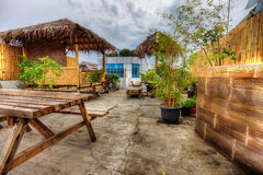Roof Terrace in Jakarta, Indonesia Royalty Free Stock Images