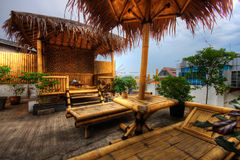 Roof Terrace in Jakarta, Indonesia Stock Image