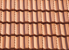 Roof texture. From a small house Stock Photo