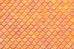 Roof texture background Royalty Free Stock Photography