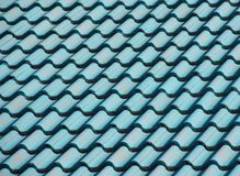 Roof Texture. A green roof texture background Stock Images