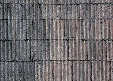 Roof texture. Old slate roof texture vintage Stock Image