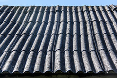 Roof texture. Old slate roof texture vintage Royalty Free Stock Photo