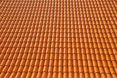 Roof texture tile Stock Photography