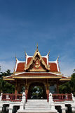 Roof of thai architecture,in Thailand Stock Photo