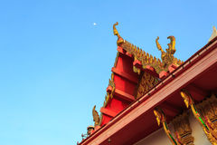 Roof of thai temple Stock Photo