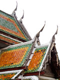 Roof of Thai Temple Stock Image