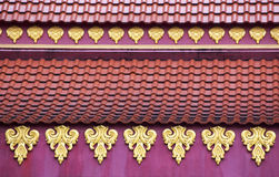 The roof of Thailand Stock Photography