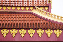 The roof of Thailand Stock Image