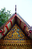 Roof of Tiger Cave Temple or Wat tham sua in Kanchanaburi Thailand Royalty Free Stock Image