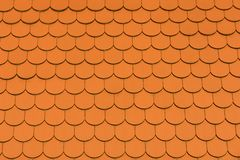 Roof tile. Roof tile - great texture to create fish/reptile scales or feathers Royalty Free Stock Photography