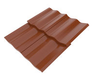 Roof tile. 3d high resolution render image of roof tile Stock Photography