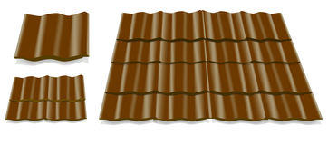 Roof tile Stock Photo