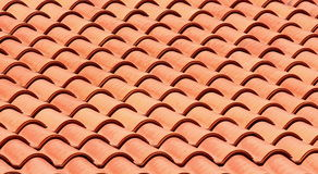 Roof tile. Red roof tile texture stock image