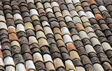 Roof tile Royalty Free Stock Photos