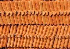 Roof tile arraged pattern backgroud. Roof tile arranged pattern backgroud Stock Photo