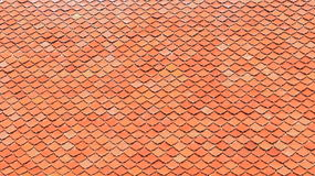 Roof tile. As background or texture Royalty Free Stock Image