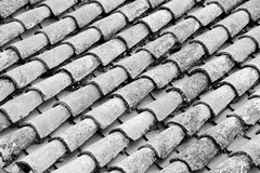 Roof Tile Background Stock Images