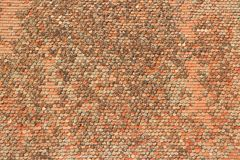 Roof tile background Royalty Free Stock Photography