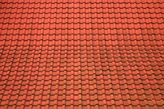 Roof from a tile Stock Image