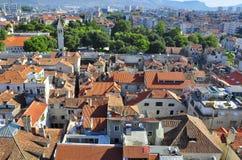 Roof tile of Croatia. Split city Royalty Free Stock Photo