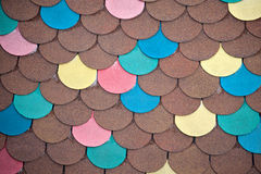 Roof tile design Stock Images