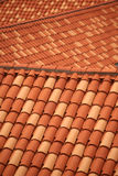 Roof tile detail - Dubrovnik Stock Image