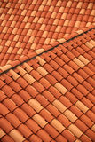 Roof tile detail - Dubrovnik Stock Photography