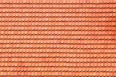 Roof tile pattern Royalty Free Stock Image