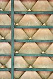 Roof Tile Pattern Royalty Free Stock Photography