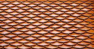Roof tile pattern background of Thailand. Roof tile pattern background of Thailand Stock Photography