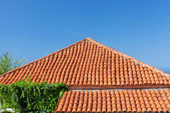 Roof tile pattern Stock Photography