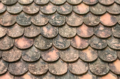 Roof Tile Pattern. Of Thailand Stock Photos