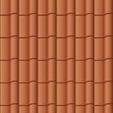 Roof tile seamless background Stock Image