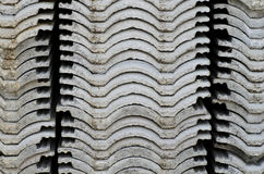 Roof-Tile Stack Royalty Free Stock Images
